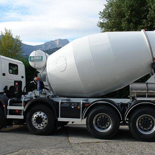 Betonomieszarka Imer ORULT 8.7H na Scania