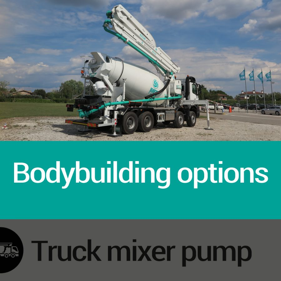 Features of Truck Mixer Pump Bodybuling Options