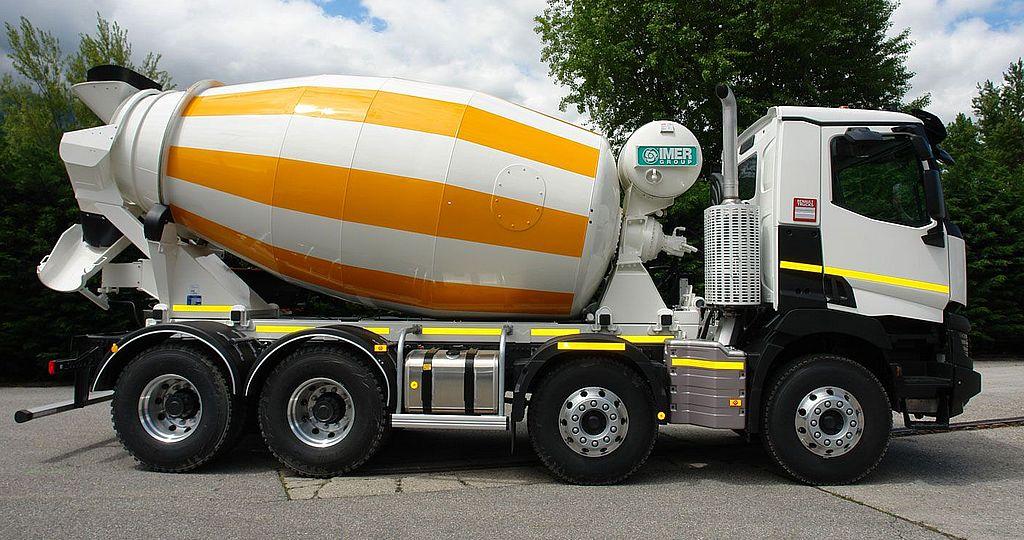 Truck Mixer Imer ORU LT 9.7H 01