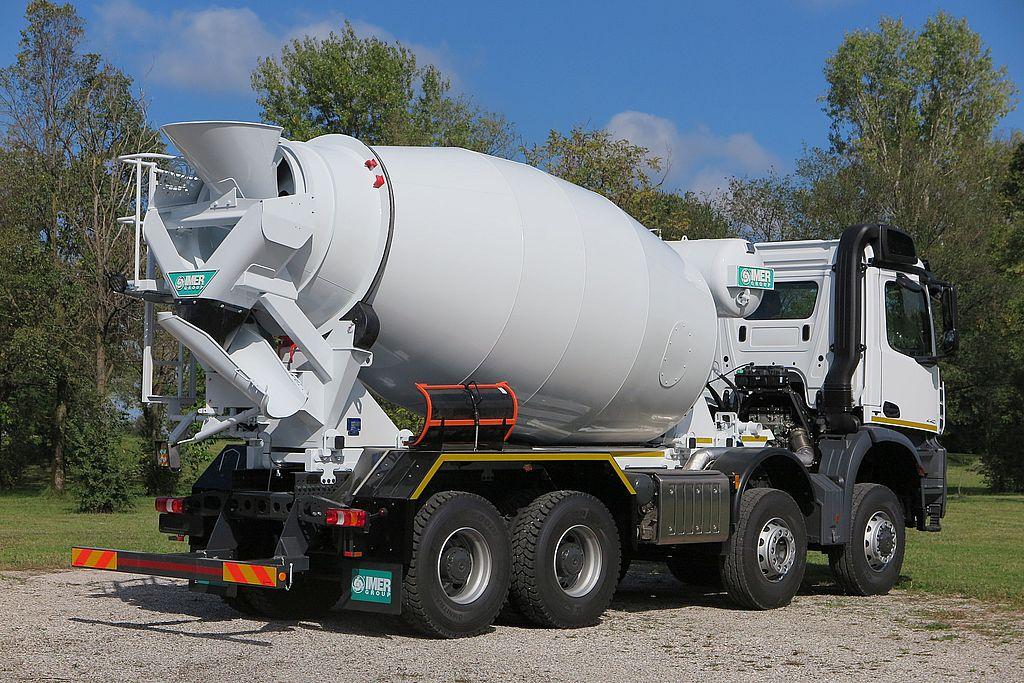Truck Mixer Imer ORU LT 9.7H 03