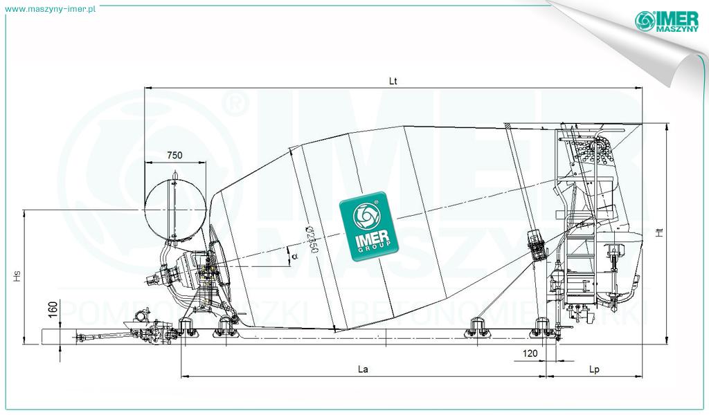 Truck Mixer Imer ORU LT 9.7H 06