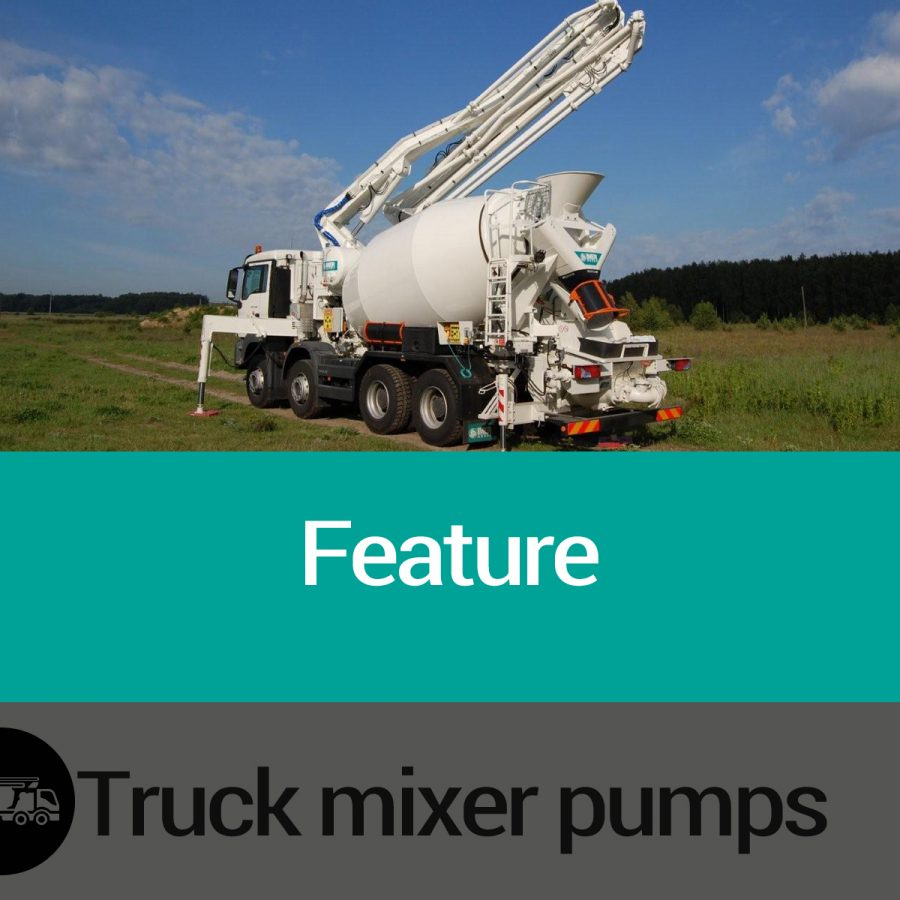 Truck Mixers Pumps Features Slide 01