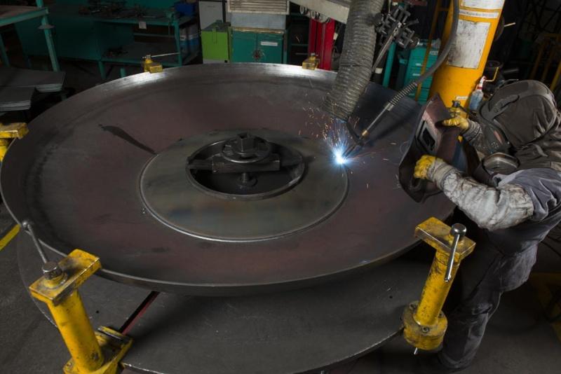 Truck mixer pumps production Imer 04