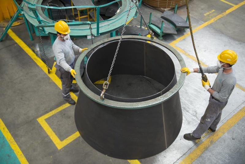 Truck mixer pumps production Imer 06