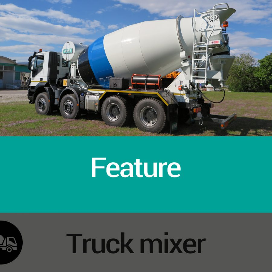 Truck mixers  features Slide 01