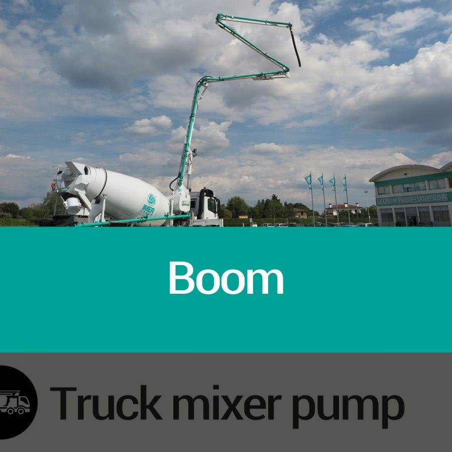 Features of Truck Mixer Pump Boom Slide