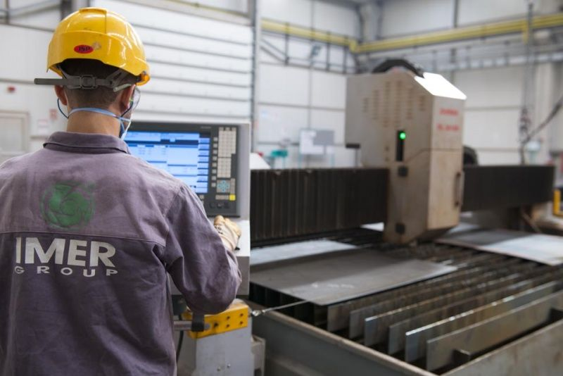 Truck mixer pumps production Imer 01