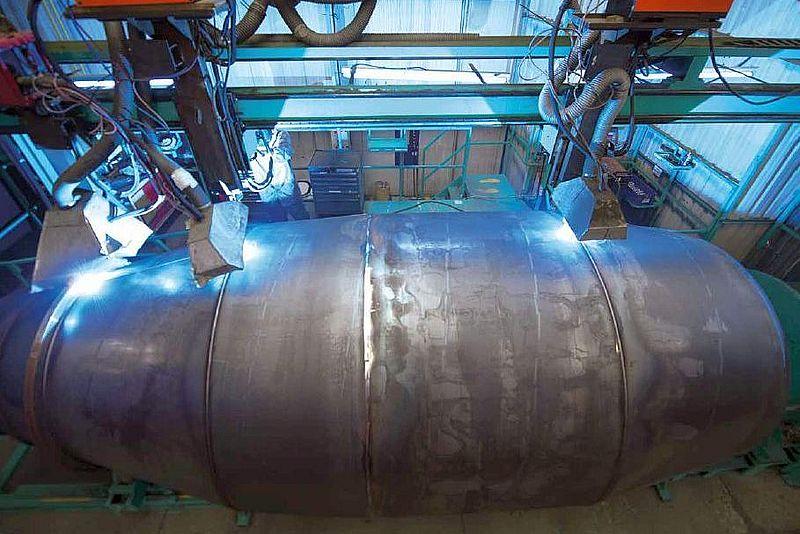 Truck mixer pumps production Imer 02