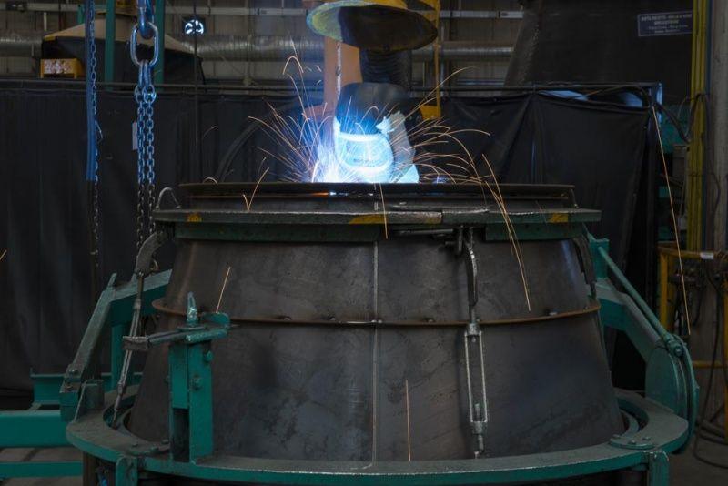 Truck mixer pumps production Imer 05