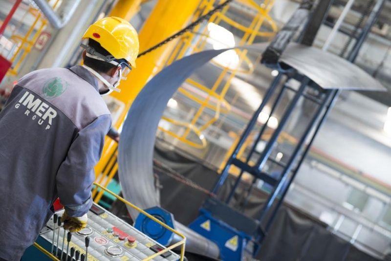 Truck mixer pumps production Imer 07