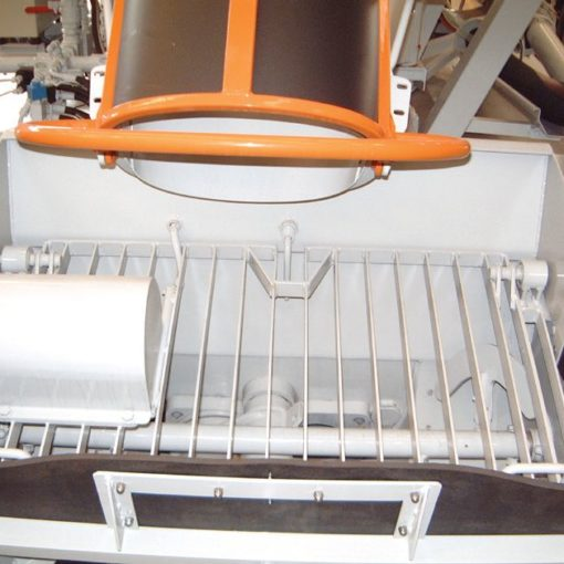 Concrete level sensor in Imer truck mixer pumps 01