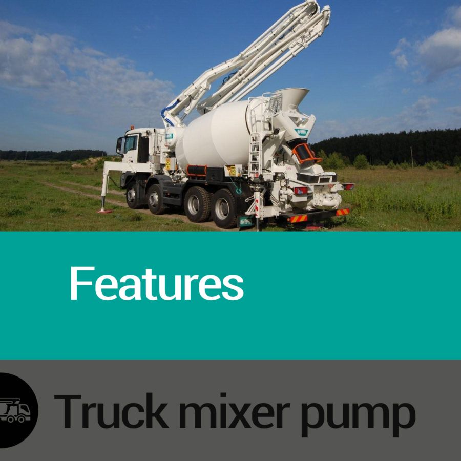 Features Truck Mixer pumps Slide 02