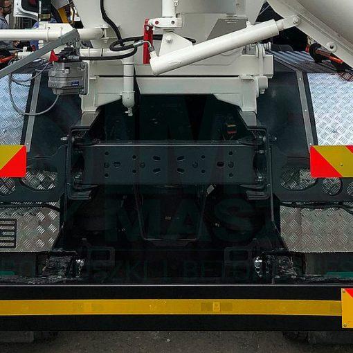 Aluminum mudguards in Imer truck mixers 03