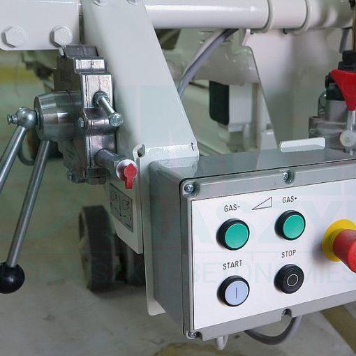 Truck mixer control 02