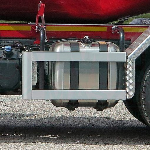 Side protection guards used in Imer concrete mixers 02